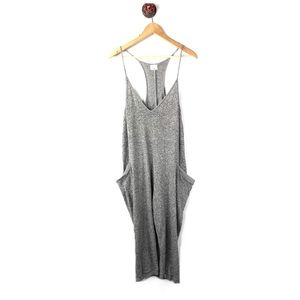 Urban Outfitters L jumpsuit baggy spaghetti strap